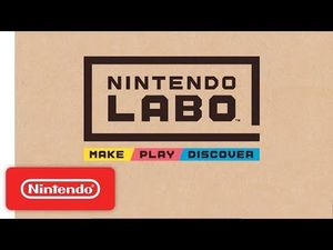 Nintendo is Turning Cardboard