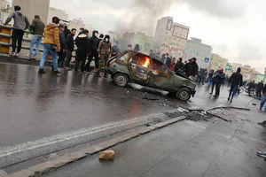 Iran racked by protests after
