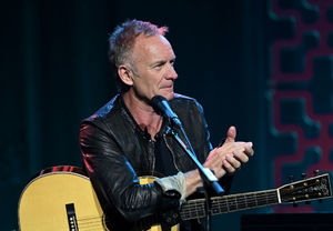 Watch Sting Debut New Song