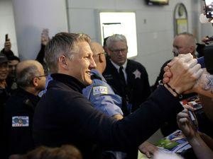 Welcome home Schweinsteiger!