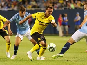 Gotze leads Dortmund to ICC