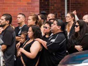 Funeral held for 6 of 10