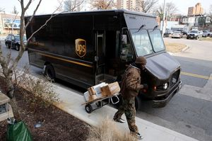 UPS limits some large