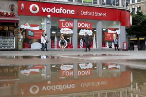 Vodafone Looks Beyond Red Ink