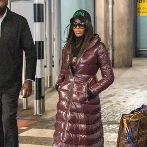 Naomi Campbell's Airport Style