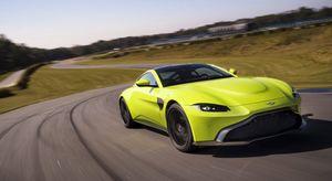 The 2019 Aston Martin Vantage
