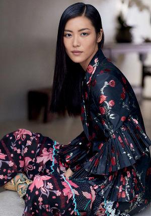 Liu Wen Embraces Sleek &