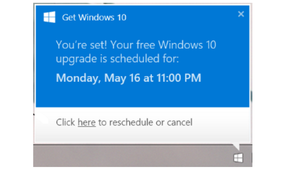 Microsoft Warned Windows 10