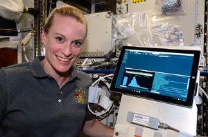 NASA uses a DNA sequencer in