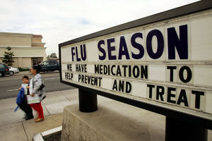 CDC Says Flu Season Appears To