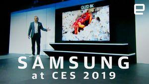 Watch Samsung's CES 2019 press