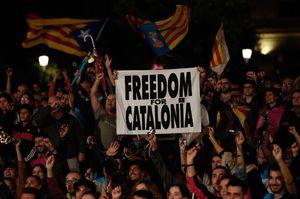 Catalonia Declares Landslide