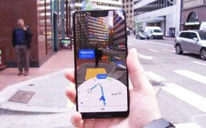 Google Maps AR mode can be