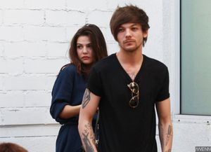 Louis Tomlinson and Danielle