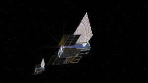 NASA lost contact with two