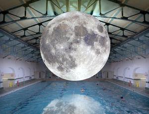 Giant, hyper-detailed Moon