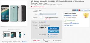 Deal: 32GB international Nexus