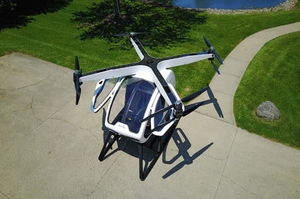 The SureFly two-person drone