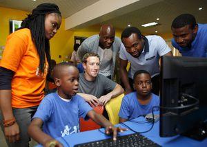 Facebook's Zuckerberg Visits