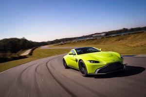 The redesigned Aston Martin