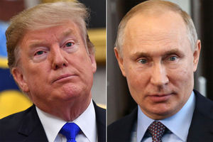 Trump trusts Putin on North