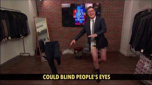 Colbert Celebrates First