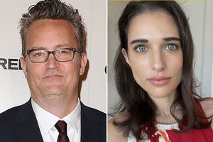 Matthew Perry and Molly