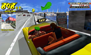 The original 'Crazy Taxi' is