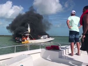 1 dead, 9 injured as tour boat