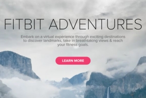 Fitbit gets you out of your