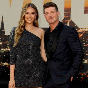 Robin Thicke's fiancee at