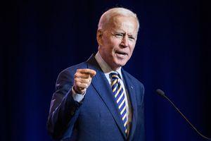 Biden urges caution about