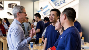 Apple's iPhone drops to fifth
