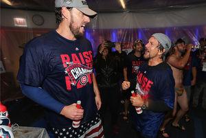 Celebs celebrate Chicago Cubs