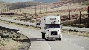 Uber Self-Driving Truck Goes