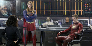 All The Flash And Supergirl
