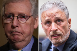 Stewart dares McConnell to
