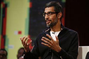 Google CEO Sundar Pichai says