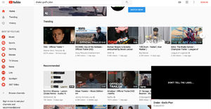 YouTube is testing floating