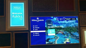 Hilton to roll out 'Connected