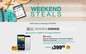 24-hour deal: Nexus 6P, phone