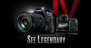 Canon EOS 5D Mark IV DSLR is