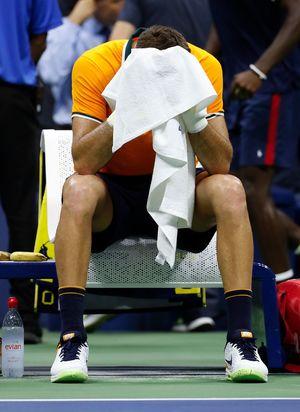 Del Potro falls in US Open,