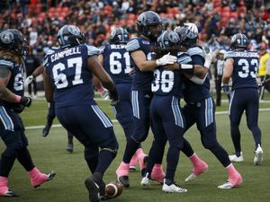 James Franklin ties CFL record