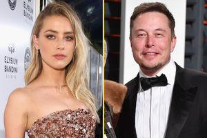 Elon Musk and Amber Heard