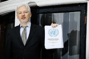Julian Assange Retreats From