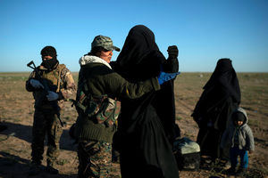 Syrian fighters backed by US