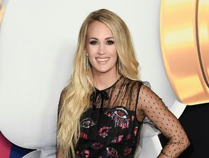 Carrie Underwood performs at