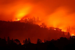 California wildfire becomes
