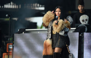 Nicki Minaj Ghosted on Social